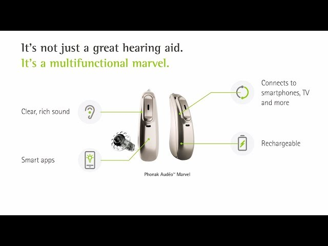 Marvel by Phonak – A multifunctional hearing aid that will make you fall in love at first sound!