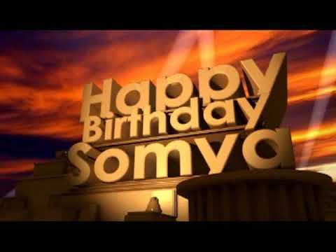 Happy Birthday Somya