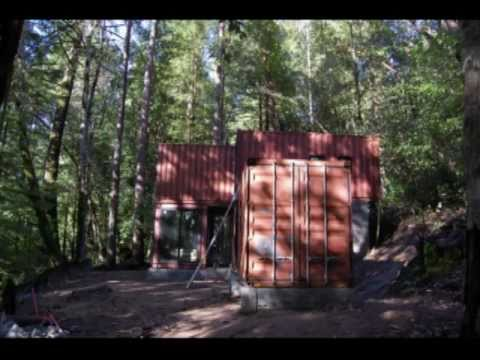 NorCal Construction Shipping Container Home Time Lapse Movie