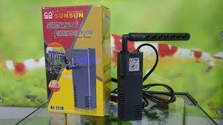 SUNSUN HJ 111B совсем бюджетный фильтр для маленького аквариума