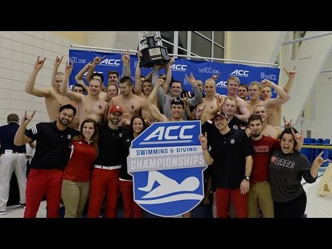 NC State Wins 2016 ACC Men's Swimming & Diving Championship