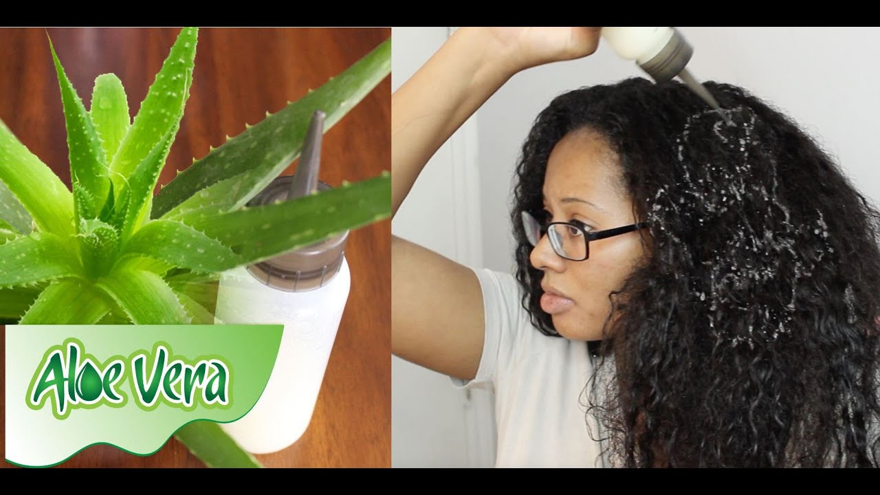 ALOE VERA for SUPER FAST HAIR GROWTH - YouTube