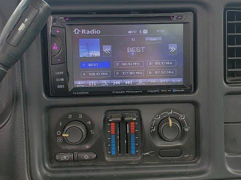 Double Din Radio Install - 2003 Chevy Silverado 2500