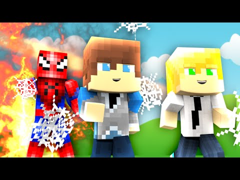 Minecraft - WHO'S YOUR DADDY? - BABY SPIDERMAN VS ...