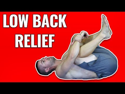 PNF Stretching for LOWER BACK Relief (2 Ways!)