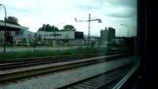 カナディアン号がバンクーバーのパシフィックセントラル駅を出発しまし...