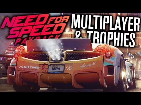 NEED FOR SPEED PAYBACK | MULTIPLAYER INFO, SPEEDLISTS, ACHIEVEMENTS / TROPHIES
