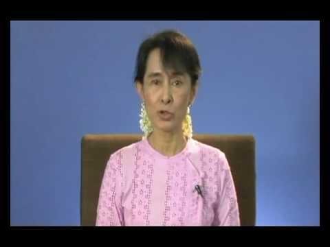 Aung San Suu Kyi: Battle of Crete Award Acceptance Speech