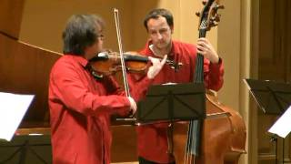 Bach violin concerto G minor BWV 1056 - Verner Collegium in Dvorak Hall