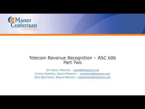 Telecommunications – Maner CPA