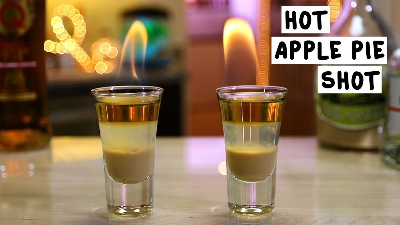 how to make hot apple pie drink