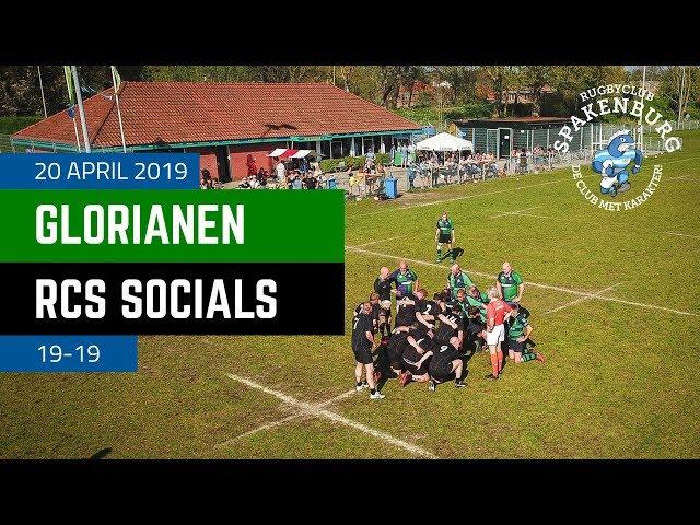 Glorianen - RCS Socials | 19-19 | 4K