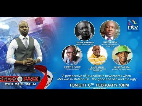 NTV Kenya Livestream || Press Pass with Mark Masai