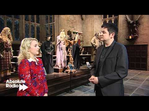 Evanna Lynch interview at Harry Potter Studio tour