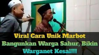 Download lagu Viral Cara Unik Marbot Bangunkan Warga Sahur Bikin Warganet Kesal MP3
