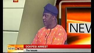 efcc arrest reaction from dokpesi s counsel