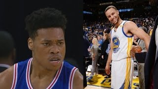 76ers blew a 16 point lead vs warriors! snap 3 game losing streak!