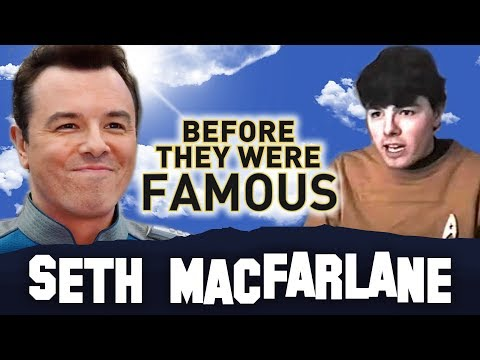 SETH MACFARLANE  Before They Were Famous  Family Guy Creator