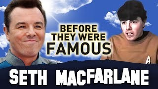 SETH MACFARLANE - Before They Were Famous - Family Guy Creator
