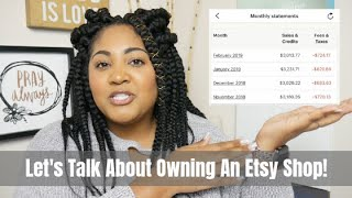 Let's Talk About My March 2019 Etsy Income, Fees, Taxes, Etc.