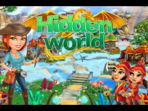 เกมส์ Hidden World เกมส์ฟื้นฟูดินแดน