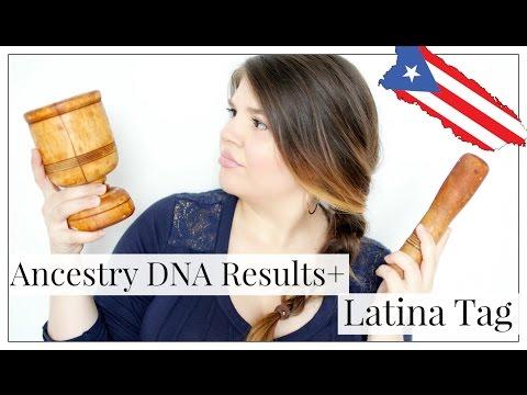 Latina Tag + Ancestry DNA Results   LESLIE Q.