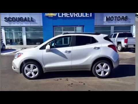 Thumbnail: White 2015 Buick Encore AWD Leather at Scougall Motors in Fort Macleod, AB.
