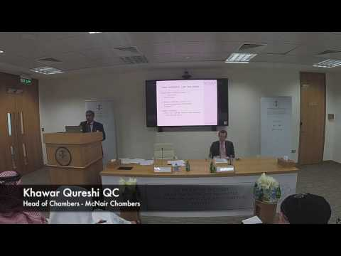 Khawar Qureshi QC - Benefits of the New Arbitration Law No.2 for the State of Qatar