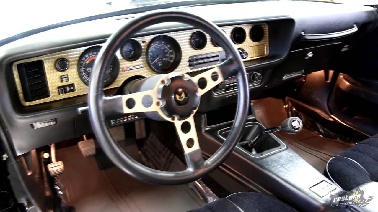 1977 Pontiac Trans Am Se Restored Youtube