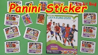 Panini Sticker  Road to EURO 2020 unboxing new stickers Lucky Bag Panini Album UEFA CUp ´20