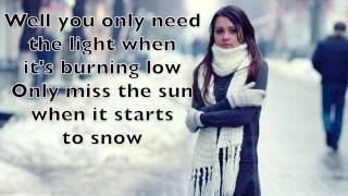 Passenger - Let Her Go Karaoke Cover Backing Track + Lyrics Acoustic Instrumental