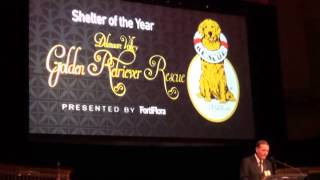 2013 Purina Proplan's Shelter Of The Year Award : Delaware Valley Golden Retriever Rescue