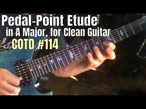 A Major Pedal-Point Etude (Clean!) | ShredMentor Challenge of the Day #114