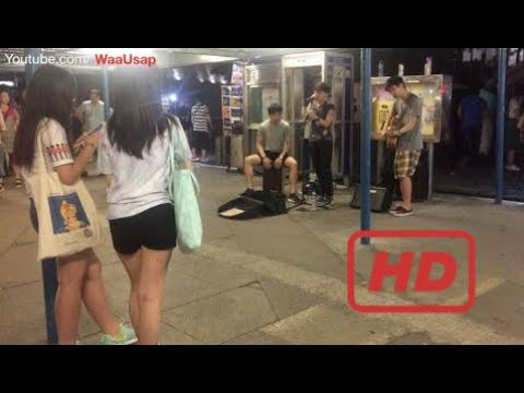 Victoria Harbour Avenue of Stars | Street Music | Hong Kong Band Musicians Chinese Song | Chi  #KHR