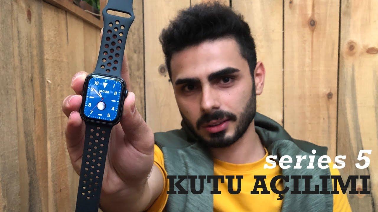 Türkiye'de satılan ilk Apple Watch Series 5 |KUTU AÇILIMI ve İLK İZLENİM | Nike Edition