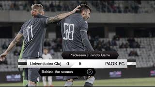 Η παρακάμερα του FC Universitatea Cluj-ΠΑΟΚ - PAOK TV