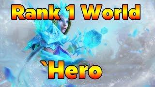 Rank 1 World Crystal Maiden `Hero 78.72% WIN RATE