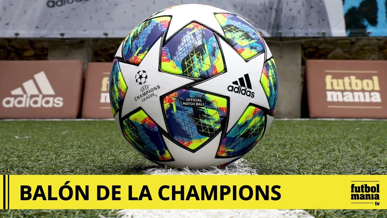 más Chicle Encommium  Balón adidas de la UEFA Champions League 2019 2020 OMB - YouTube
