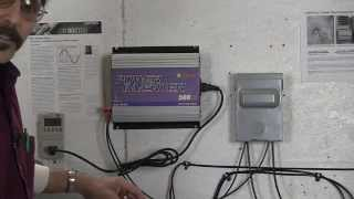 Sun grid tie inverter plug and play install Missouri Wind and Solar