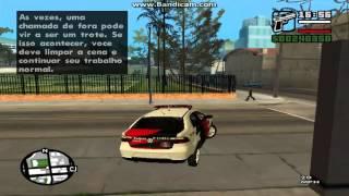 Demonstração Mod Policial Gta San Andreas (2015)