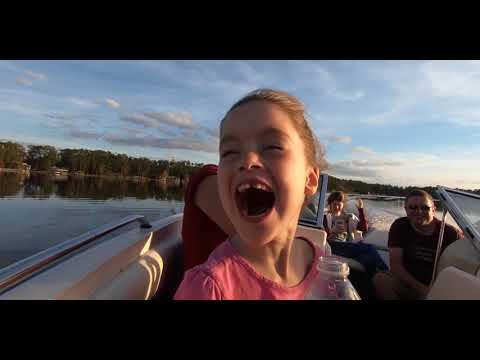 Sunset Boat Cruise | Lake Mary Jane Florida
