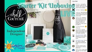 Unboxing Chalk Couture Starter Kit