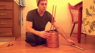 Best Double Coil Wort Chiller Tutorial - How to Build a Cheap 50 Foot Immersion Chiller