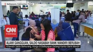 Ramai-Ramai Nasabah Bank Mandiri Cek Saldo