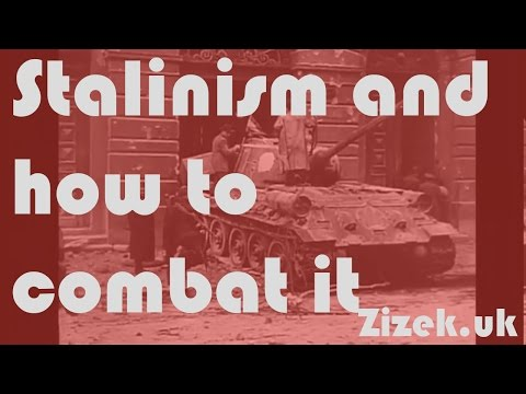 Slavoj Žižek on Stalinism and how to combat it