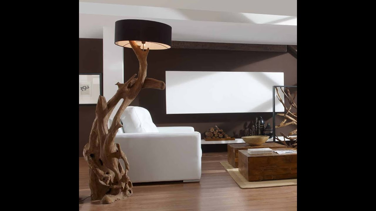 lamparas estilo natura lamparas originales de pie para salon youtube. Black Bedroom Furniture Sets. Home Design Ideas