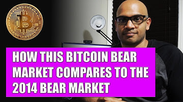 How This Bitcoin BEAR Market Compares To The 2014 BEAR Market