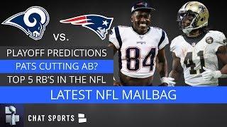 NFL Rumors: Antonio Brown Future, Saquon Barkley, Adam Vinatieri & Super Bowl Predictions | Mailbag