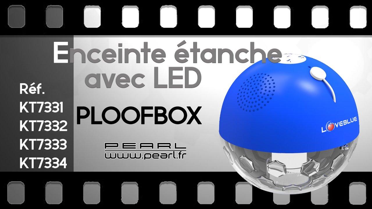 ENCEINTE ETANCHE BLUETOOTH piscine  PLOOFBOX  PEARLTVFR  YouTube