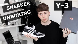 Y3 pure boost zg knit sneaker unboxing | adidas | gallucks